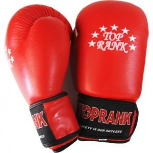 Перчатки боксёрские кожа 16 OZ Super  TOP RANK
