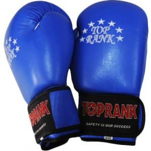 Перчатки боксёрские кожа 10 OZ Super  TOP RANK