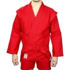 """Куртка для самбо с подкладом, красная  """"АТАКА"""""""