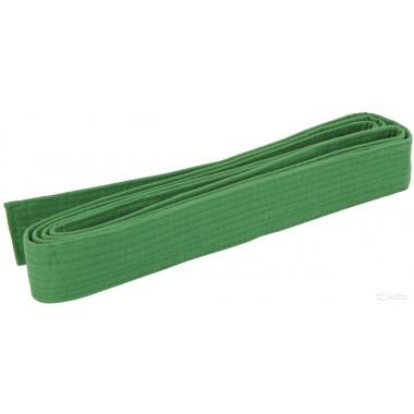 Пояс для кимоно зелёный