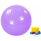 Мяч гимнастический массажный с насосом 65см  ALONSA