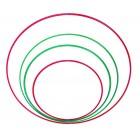Обруч металлический окрашенный D=540 (230гр)