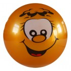 Мяч силиконовый LARSEN Апельсин 15см