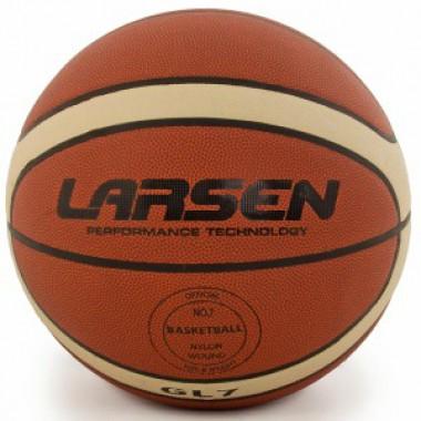 Мяч баскетбольный  LARSEN  PVC-GL7