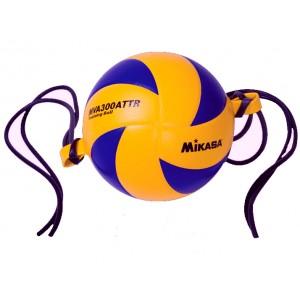 Мяч волейбольный  MIKASA MVA 300 на растяжках