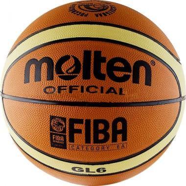 Мяч баскетбольный  MOLTEN   BGL6-RFB