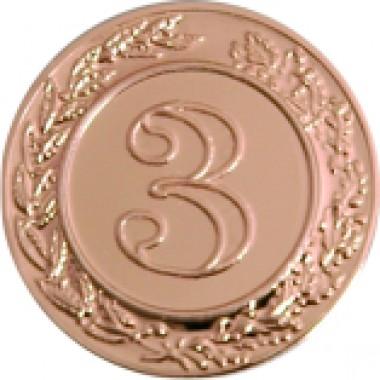 Эмблема 3-место (д.25) А38