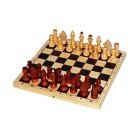 Шахматы лакированные с доской