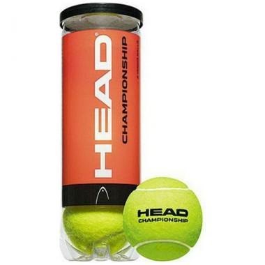 Мяч для большого тенниса HEAD Championship 3шт